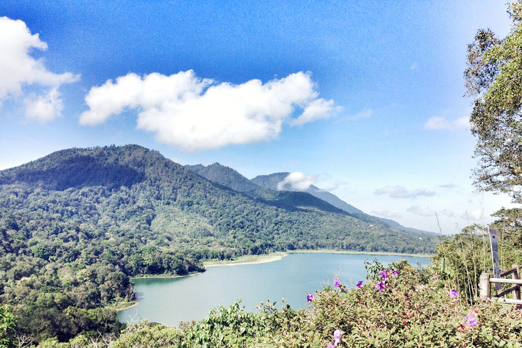 """LAKE BUYAN, BALI.  """"The hardest thing about the road not taken, is that you never know where it might have led."""" — Lisa Wingate"""
